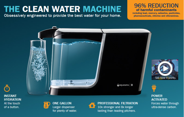 Aquasana Clean Water Machine